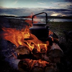 En helt vanlig høstdag i Finnmark